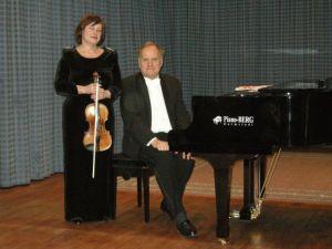 Maciej Łukaszczyk und Nina Wołyńskaja