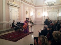 3. Herbstkonzert 17.11.13 Katarzyna Glensk (Klavier), Evva Mizerska (Violoncello)