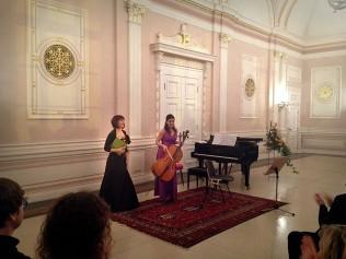 4. Herbstkonzert 17.11.13 Katarzyna Glensk (Klavier), Evva Mizerska (Violoncello)