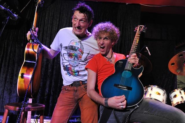 Pawel Nawrocki und Jacek Dewodzki Duo Jacek i Placek Foto Robert Widera